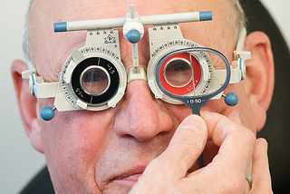 Eye Exam - AOP Image Library