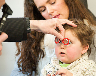 Child Eye Exam - AOP Image Library
